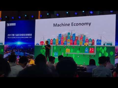 The 3rd Global Blockchain Summit 2017 - IOTA