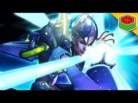 MOIRA AND THE KAME STYLE! | Overwatch thumbnail
