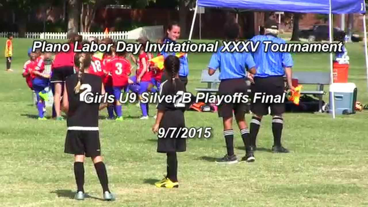 Plano Labor Day 2015 Tournament Girls U9 Silver B Final Short