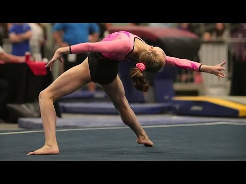 Whitney Bjerken - Amazing 12 Year Old Gymnast