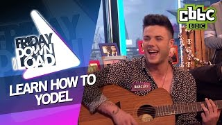 Stereo Kicks  Barclay yodelling for the Friday Download gang