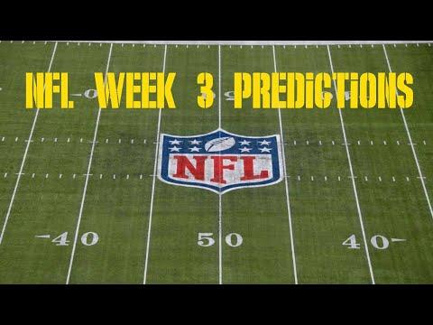 NFL Week 3 Predictions