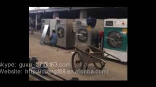 Heavy duty washing machine for laundry