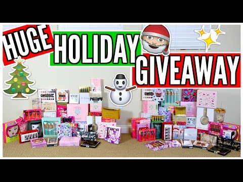 HUGE HOLIDAY GIVEAWAY WITH NIKKI PHILLIPPI! | CLOSED!
