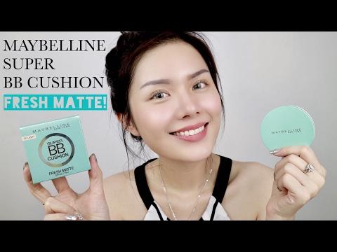 Maybelline Super BB Cushion FRESH MATTE | First Impression | Christine Sindoko