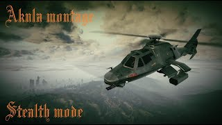 "GTA Online | Akula helicopter montage ""Stealth mode"""