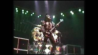 KISS - God Of Thunder / Shout It Out Loud [ Largo Dynasty Tour 7/8/79 ]