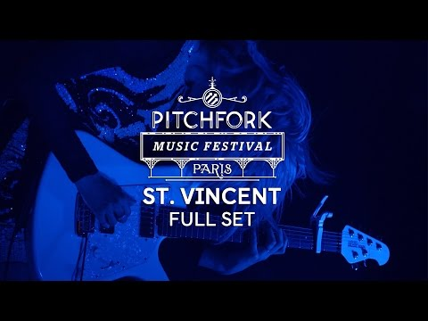 St. Vincent | Full Set | Pitchfork Music Festival Paris 2014 | PitchforkTV