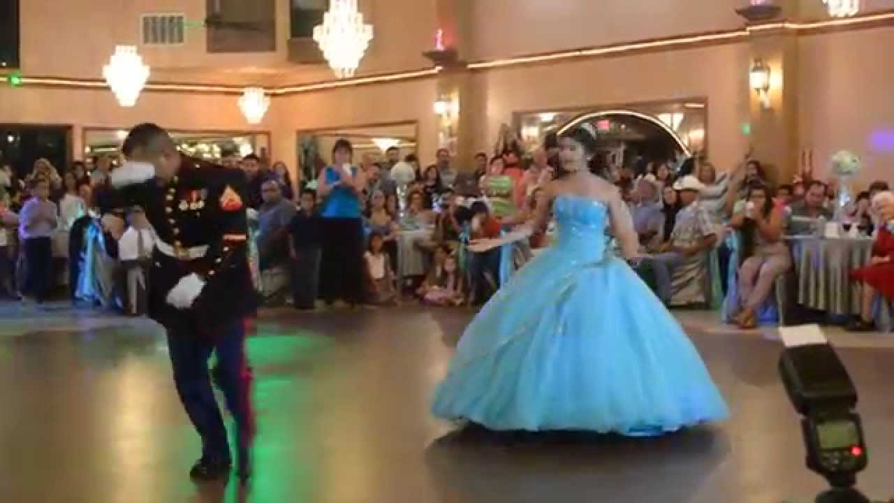 ccc867c8752 Jasmine s quinceanera best (USMC) Father daughter - YouTube