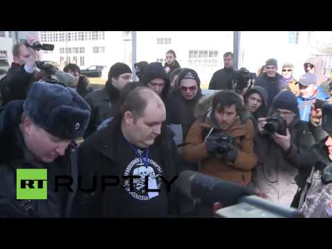 Russia: Protesters detained at unauthorised rally outside Conservative Forum