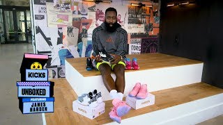 B/R Kicks Unboxed with James Harden: Adidas Harden Vol. 4