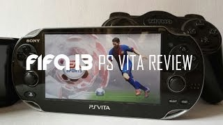 FIFA 13 PS VITA Review and Gameplay
