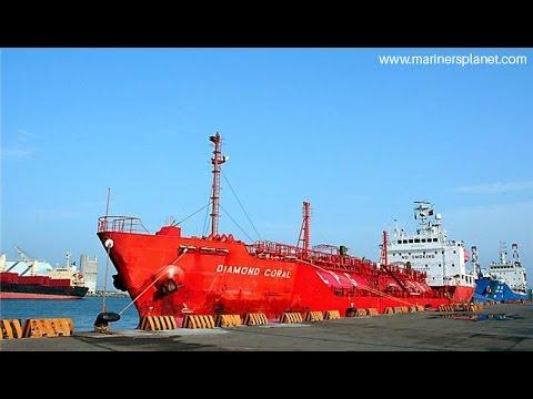 DIAMOND CORAL LPG TANKER SHIP