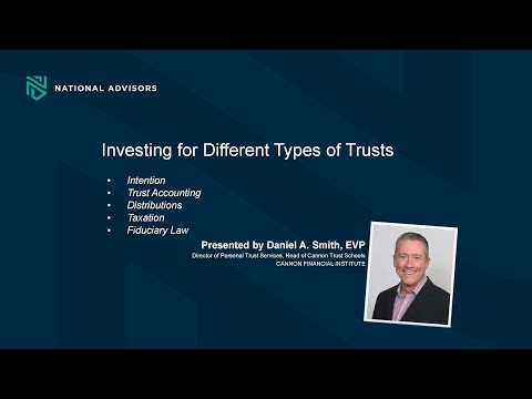 Trust Education: Investing for Trusts