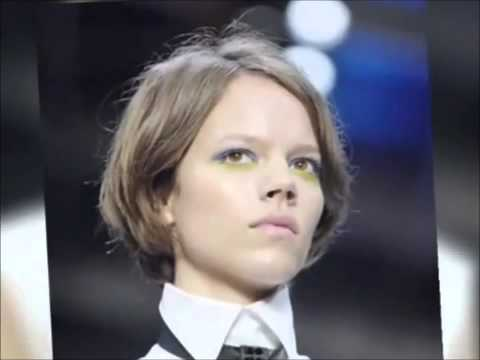 Freja Beha, Anja Rubik & Agyness Deyn in Spring Hair Trends