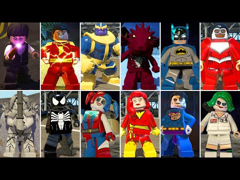 All DLC Characters In LEGO Videogames (Part 1)