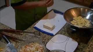 Tajadas Con Queso Frito ( Fried Green Plantain With Cheese)