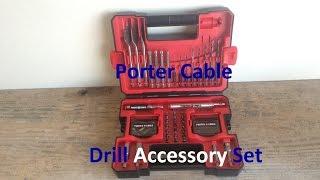Porter Cable Drill Accessory Set
