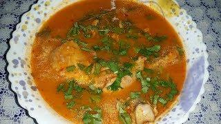 منوعات ام ميمي-اطباق رمضان 2018-تشيشة مرمز حمراء بالدجاج من مطبخي????????