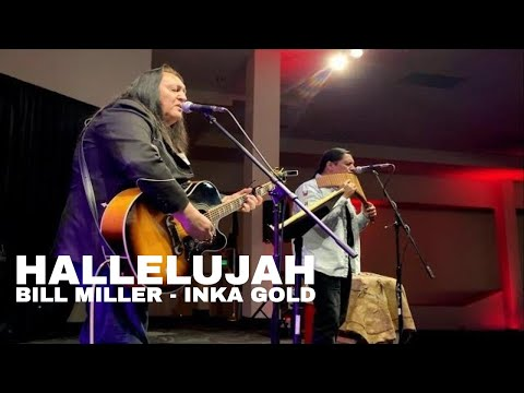 HALLELUJAH (Aleluya) Bill Miller and Inka Gold live at Colorado Indian Market