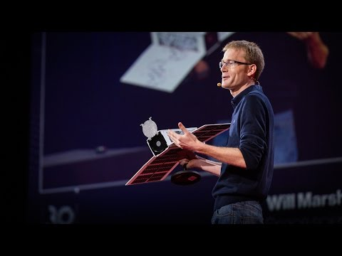 TED Talk: Photographing the Whole Earth Every Day With an Army of Tiny Satellites