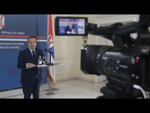 [13.01.2020.] Говор министра Дачића на новогодишњем пријему у Министарству спољних послова