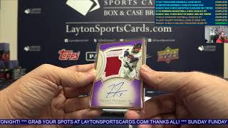 2018 Topps Definitive MLB 3 Box CASE Break for Trevor D