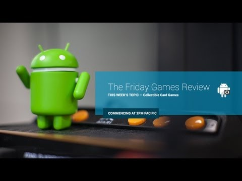 The Friday Games Review: Collectible Card Games