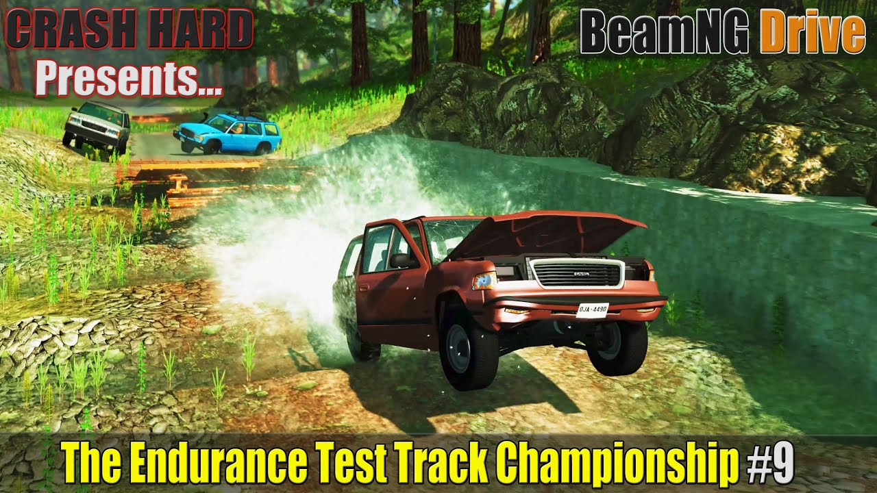 BeamNG Drive - The Endurance Test Track Championship #9