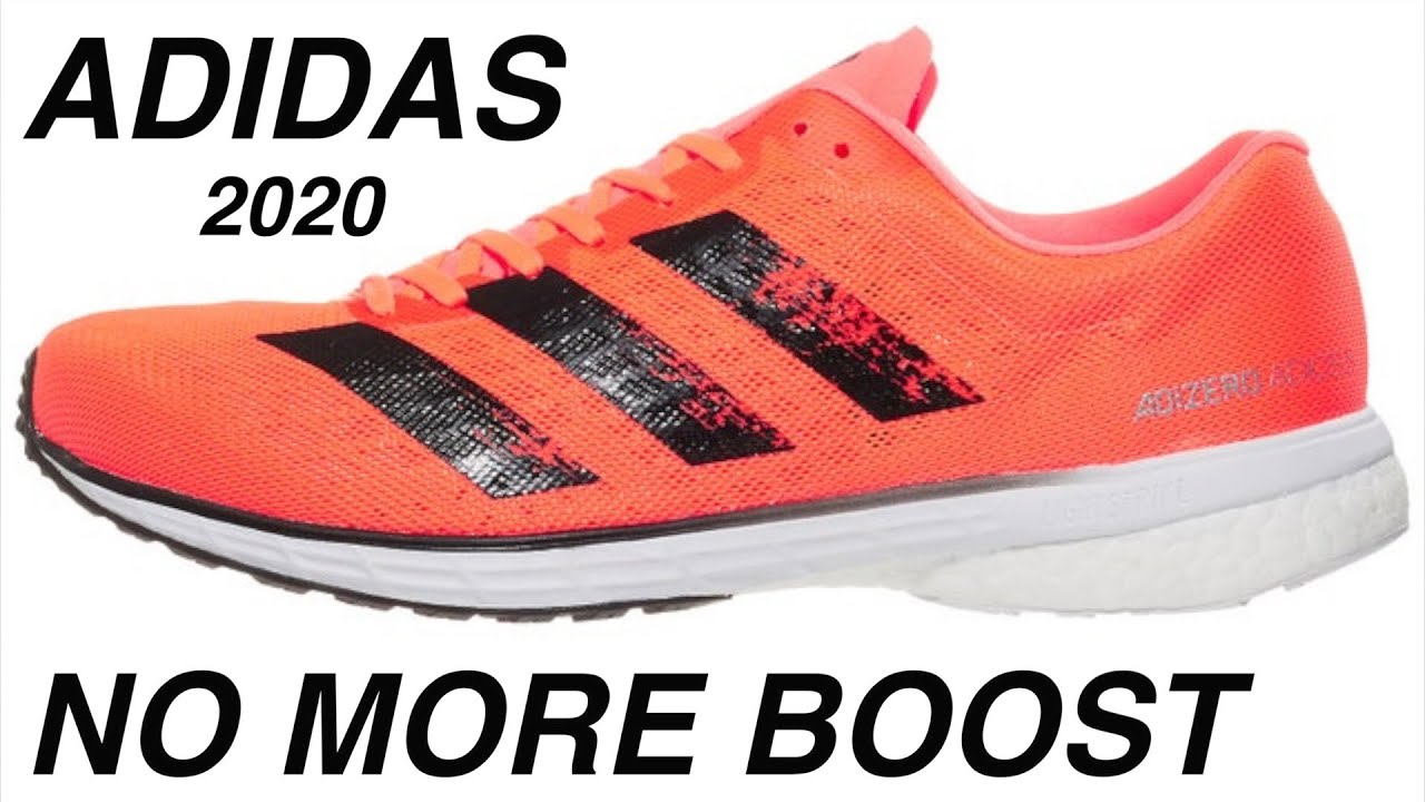 Interpersonal servir Conjugado  ADIDAS ADIOS 5 REVIEW | IS BOOST BEING REPLACED in 2020? - YouTube