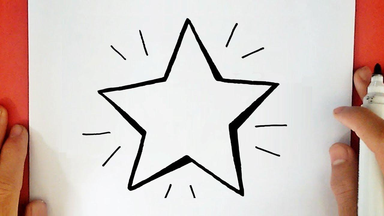 Come Disegnare Una Stella A 5 Punte Youtube