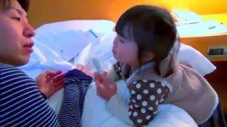 【こなつ☆2歳】 パパとお医者さんごっこをする(*^_^*)