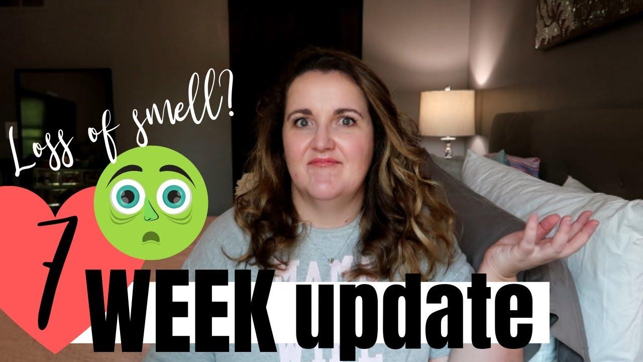 MORNING SICKNESS | 7 WEEK PREGNANCY UPDATE - YouTube