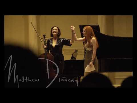 Nina Kotova: actress Bella Thorne, pianist Valentina Lisitsa at Carnegie Hall
