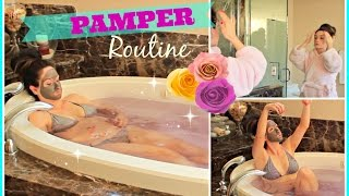 My Morning Routine on Lazy Days! ♥ PAMPER ROUTINE