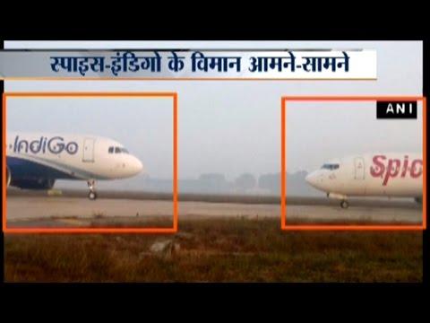 Indigo and SpiceJet Flights Avert Collision at Delhi Airport
