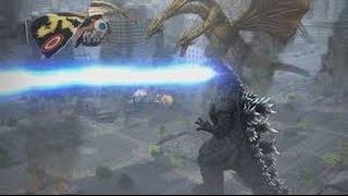 Godzilla ps4 classic movie double threat battles part 1