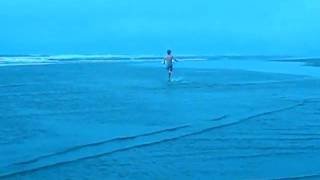 Skimboarding Ocean Park WA 8-1-09