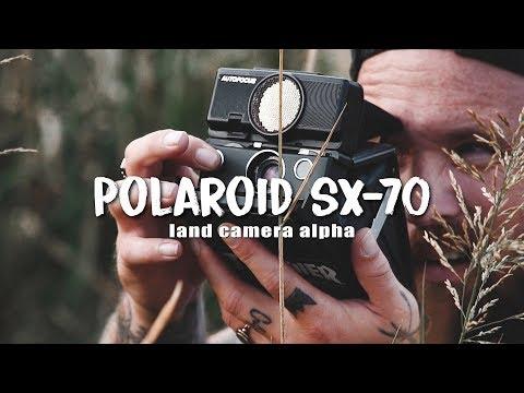 HOW TO USE Polaroid SX-70 Land Camera Alpha (subtitles)