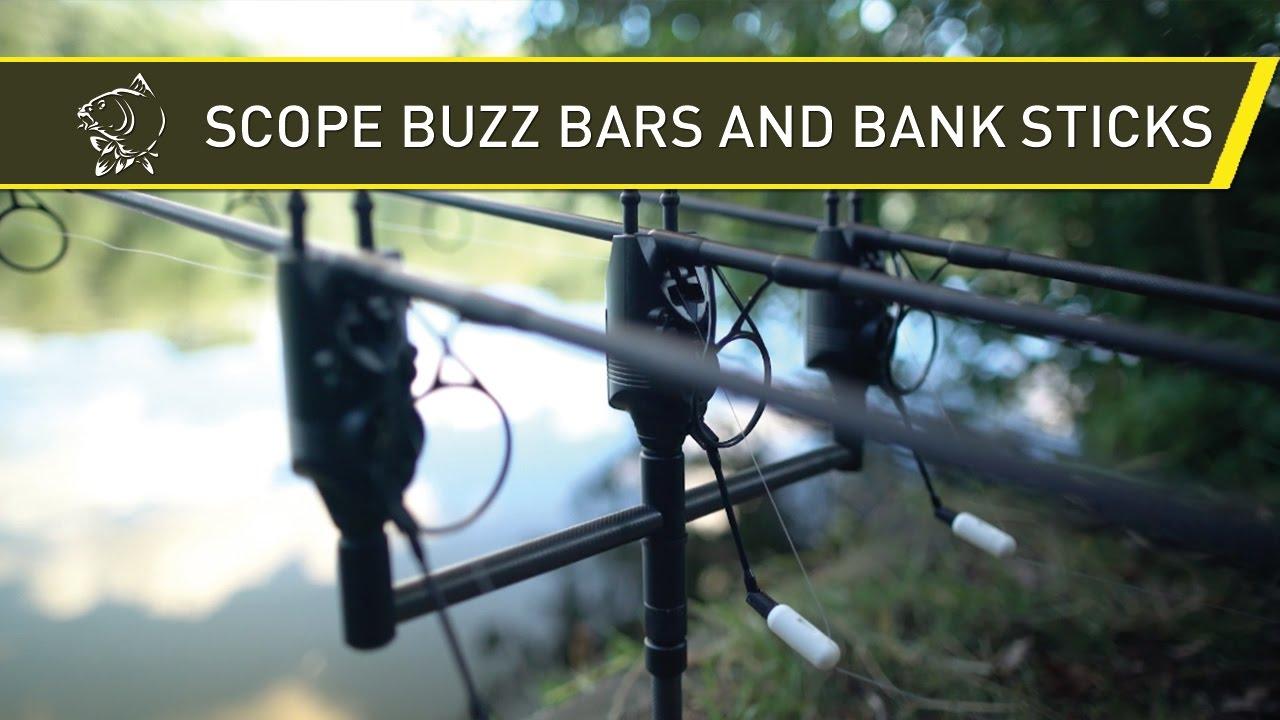 "Nash Scope Black Ops Carbon Bankstick 8/"" 12/"" 16/"" Carp Fishing Bank Sticks"