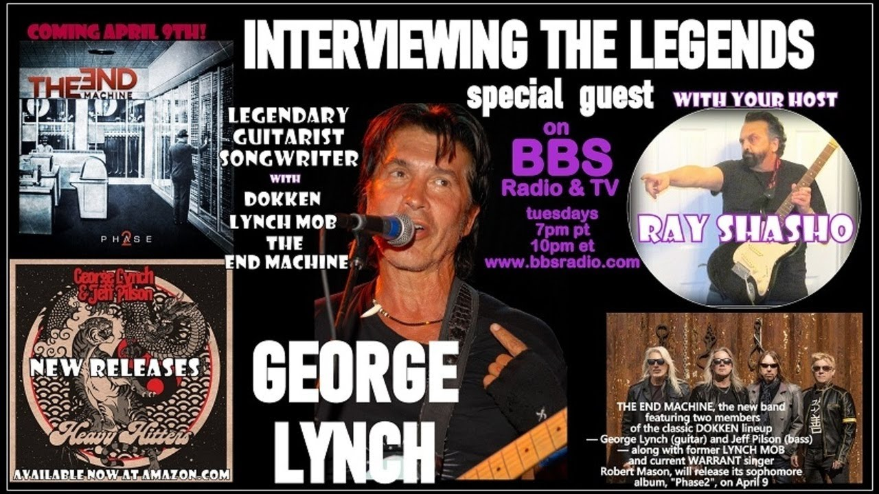 George Lynch guitar legend releases multiple projects!