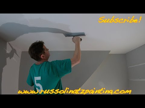 Popcorn Ceiling Removal & Skim Coating (Part 6)