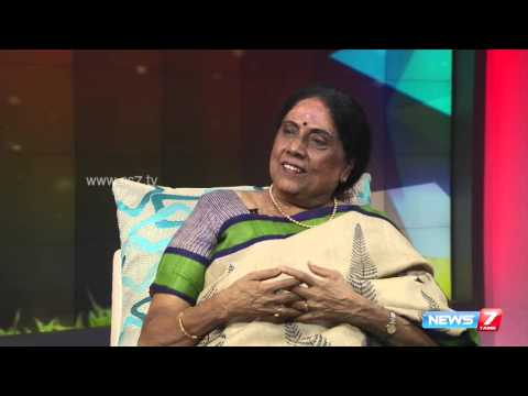 Tamil writer and activist Sivasankari opens up about her life @ Varaverpparai 1/2 | News7 Tamil