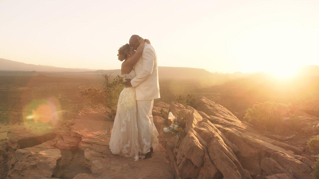 Faith Filled Elopement in Sedona, Arizona | Concetta Films | Wedding Films + Elopements