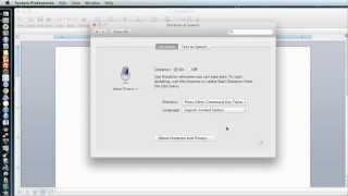 Mac OSX 10.8 - Mountain Lion - Using Dictation (Speech to Text App)