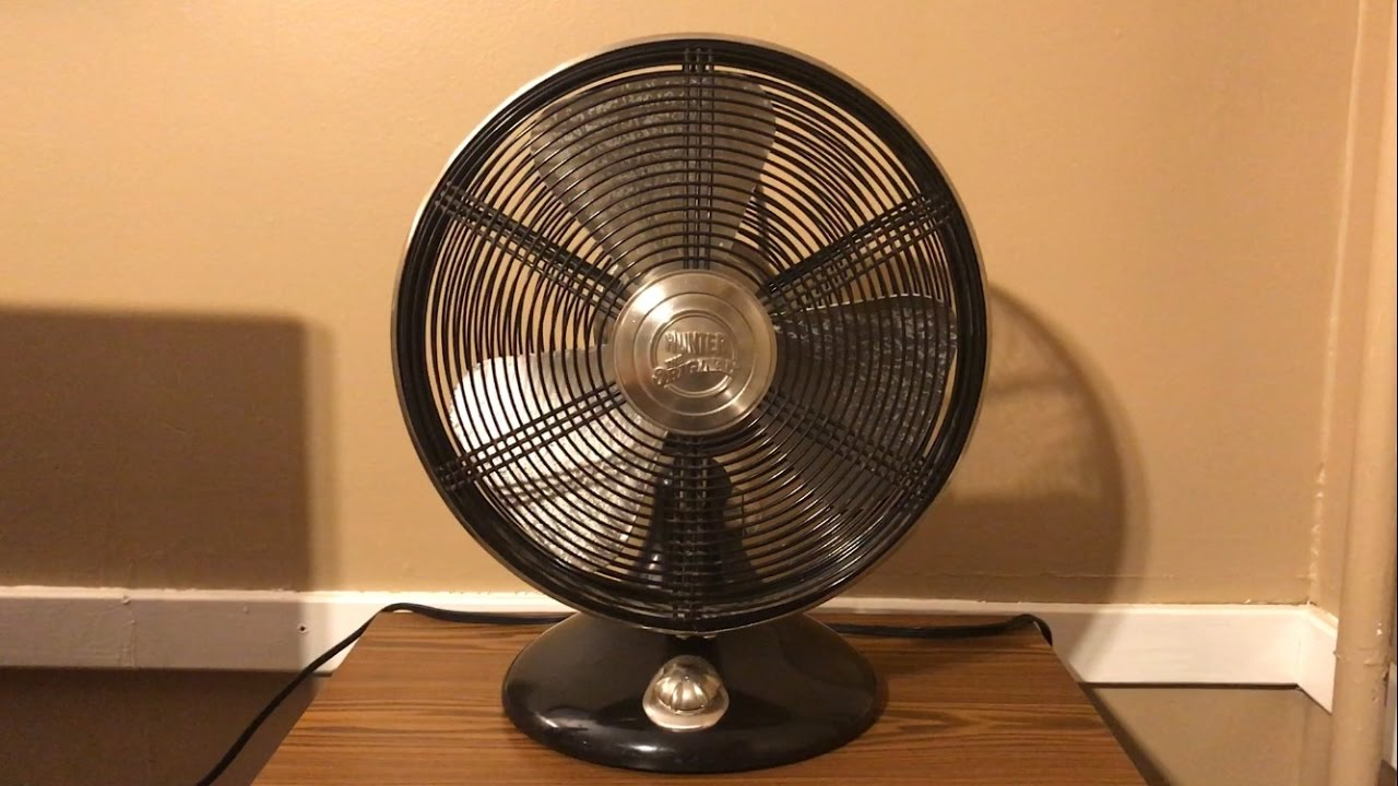 Hunter Century Table Top Fans : Hunter rockefeller table fan quot special edition youtube