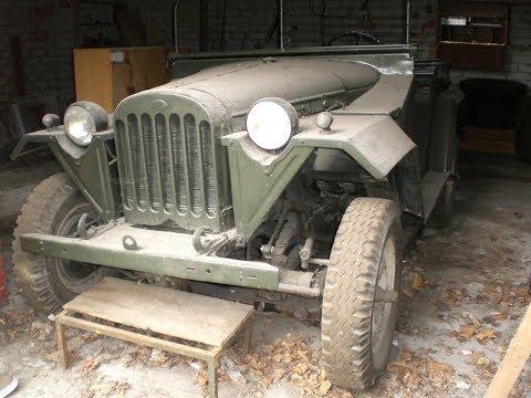 Восстановил ГАЗ 67Б 1953г. в идеальное состояние .