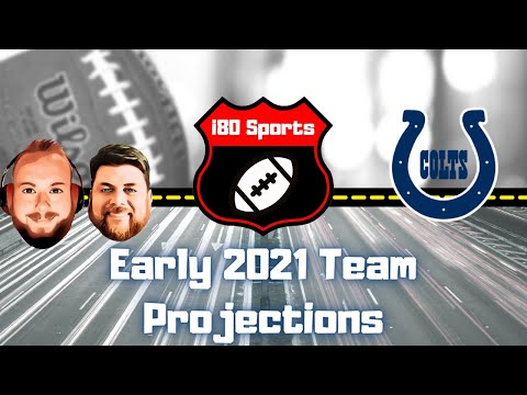 Early 2021 NFL Projections- Indianapolis Colts