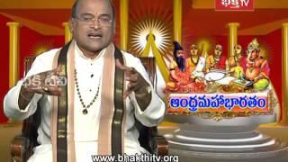 Krishna Talks about Dronacharya Vadh | Andhra Mahabharatam - Drona Parvam (Episode 1230 | Part 2)