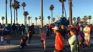 Good morning from the Surf City USA Marathon!